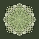 Green Lace Mandala  by awanderingsoul