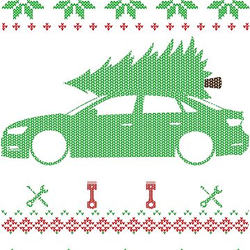 A3 S3 RS3 Sedan Sedan Christmas Ugly Sweater XMAS by glstkrrn