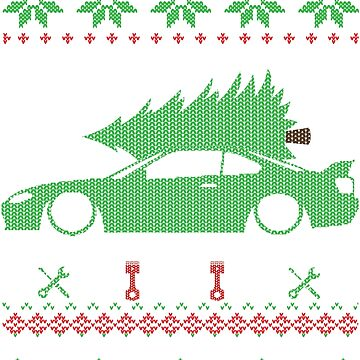 Silvia S15 Christmas Ugly Sweater XMAS by glstkrrn