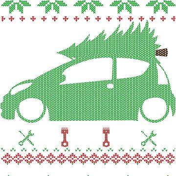 C1 Christmas Ugly Sweater XMAS by glstkrrn