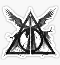 Deadly Hallows Sticker