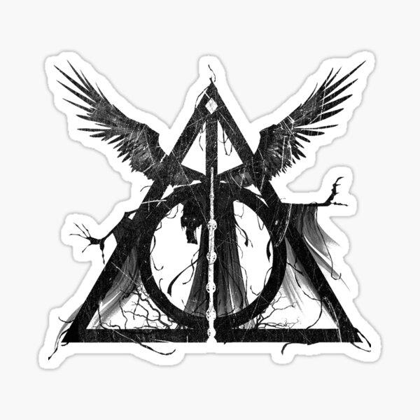 Deadly Hallows Sticker