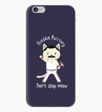 Stoppen Sie nicht Miau! Süße Freddie-Katze iPhone-Hülle & Cover