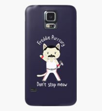 Don't Stop Meow!  Cute Freddie Cat Case/Skin for Samsung Galaxy