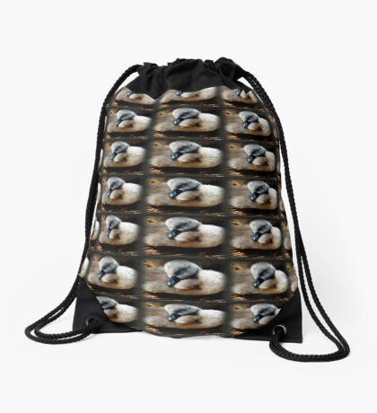 Sleepy Head Drawstring Bag