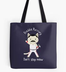 Bolsa de tela ¡No te detengas! Cute Freddie Cat - EL ORIGINAL - IMPRESIÓN DE ALTA CALIDAD
