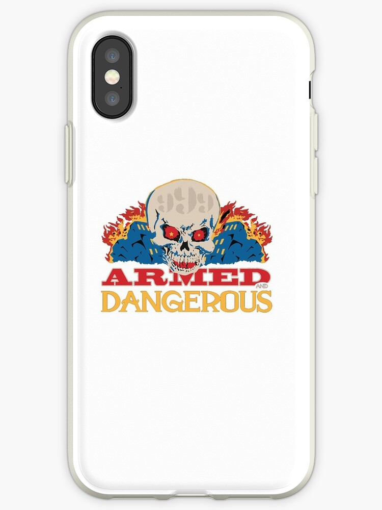 'Armed and Dangerous -Juice WRLD' iPhone Case by hood112