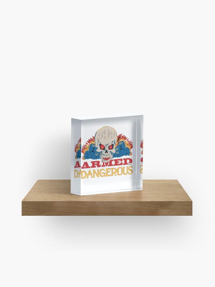Armed and Dangerous -Juice WRLD | Acrylic Block