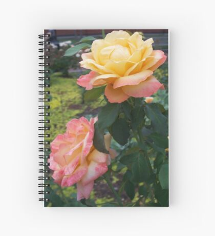 A Rose is a Rose 6 Spiral Notebook