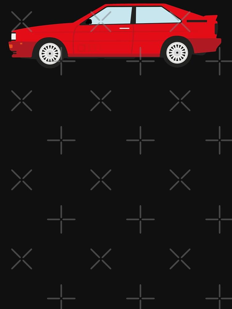 The DriveTribe Audi Quattro design by drivetribe