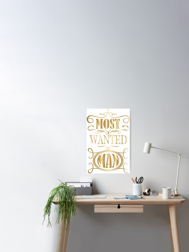 A Most Wanted Man Poster By Mimsyx Redbubble