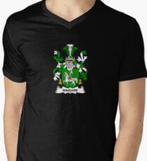 Maguire Coat of Arms - Family Crest Shirt Men's V-Neck T-Shirt