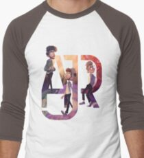 AJR: The Click Galaxy Baseball ¾ Sleeve T-Shirt