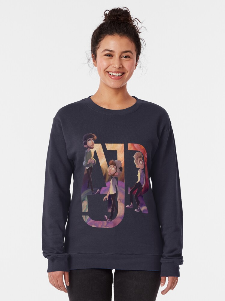 Alternate view of AJR: The Click Galaxy Pullover Sweatshirt