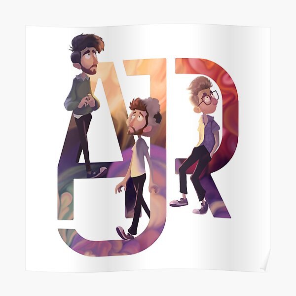 AJR: The Click Galaxy Poster