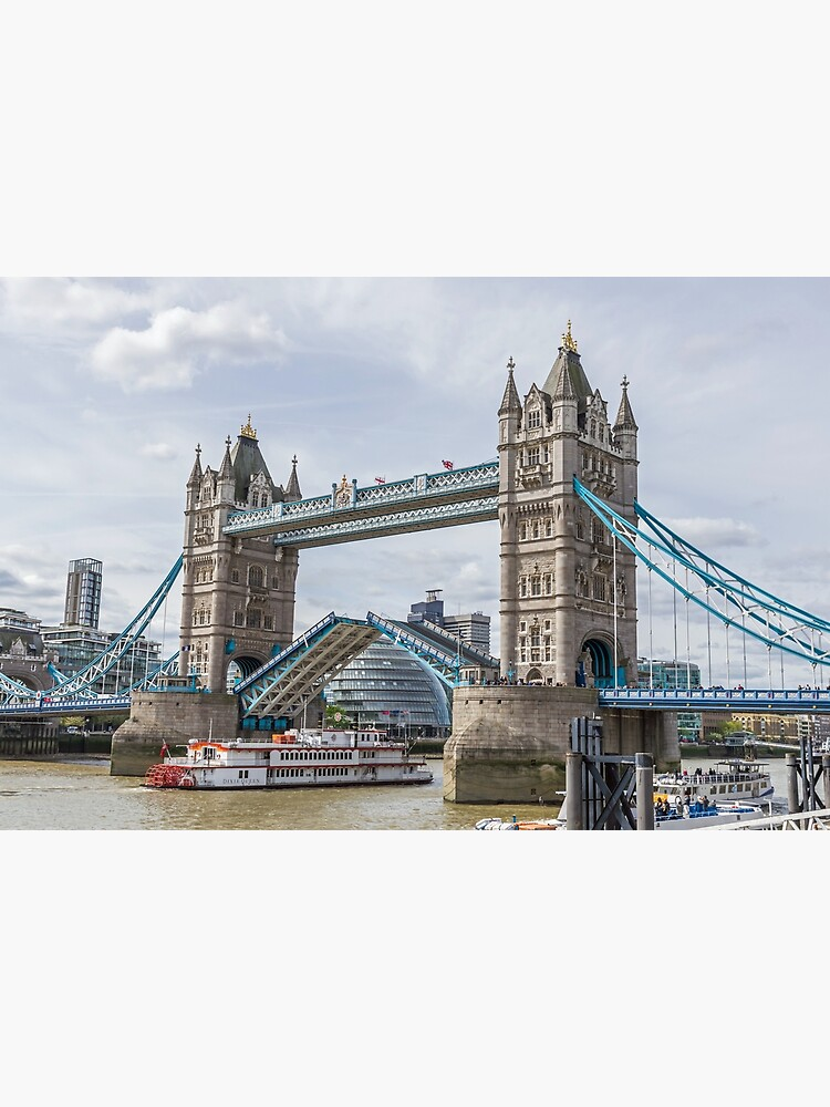 Tower Bridge lifted, London by tdphotogifts