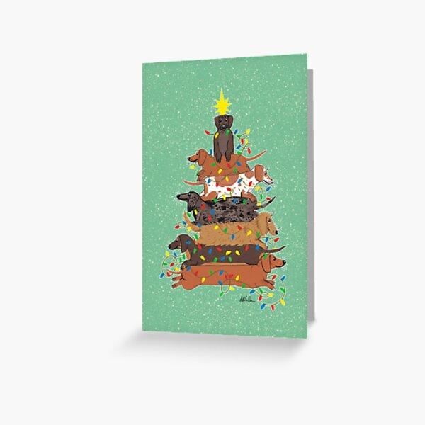Festive Weens Greeting Card