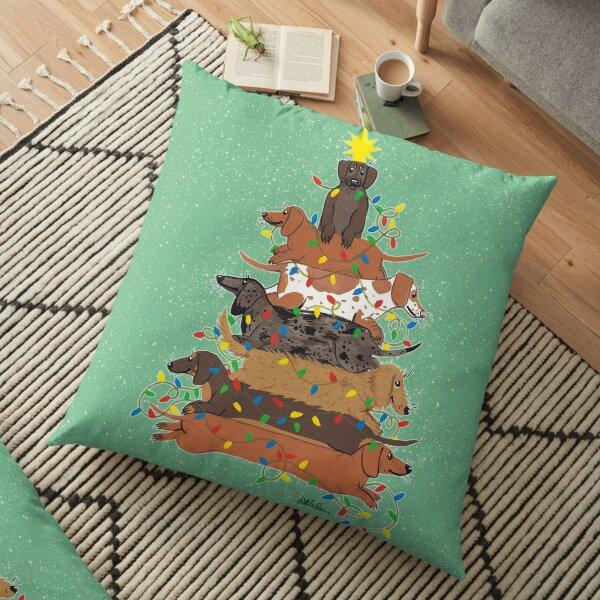 Festive Weens Floor Pillow
