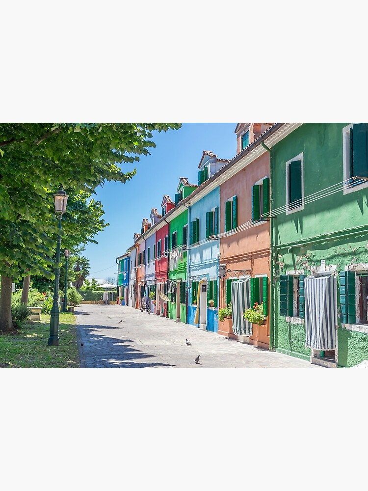 Burano colorful houses by tdphotogifts