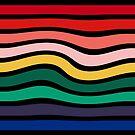 Nine 9 Bar Rainbow Sea Sickness by wetdryvac