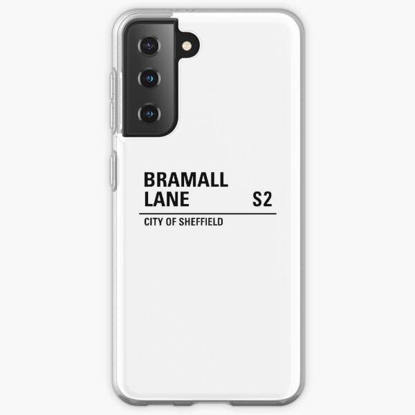 Sheffield , Bramall lane road sign design Samsung Galaxy Soft Case