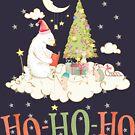 Merry Christmas with polar bears by LuciaS