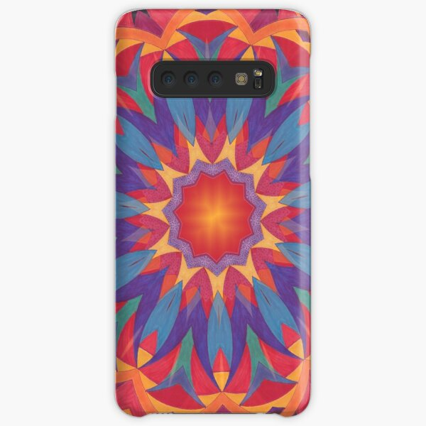 Melons Sliced Fruit and Juice Fall Into Winter Design by Green Bee Mee Samsung Galaxy Snap Case