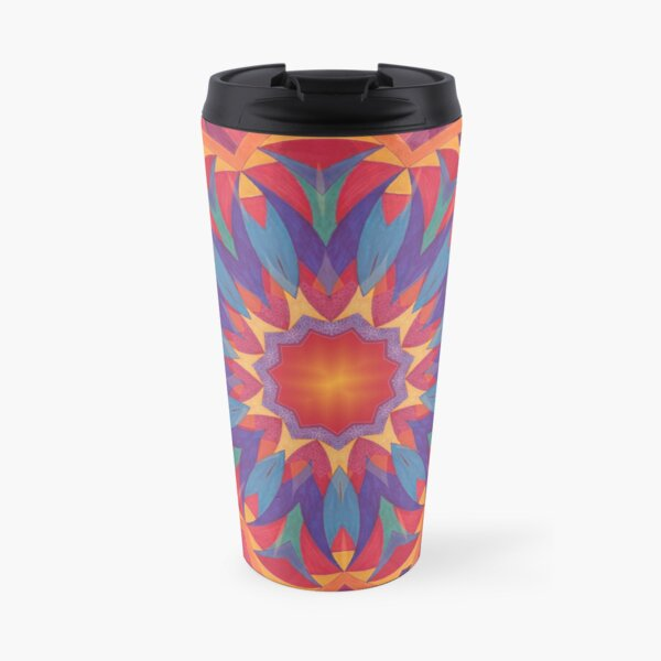 Melons Sliced Fruit and Juice Fall Into Winter Design by Green Bee Mee Travel Mug