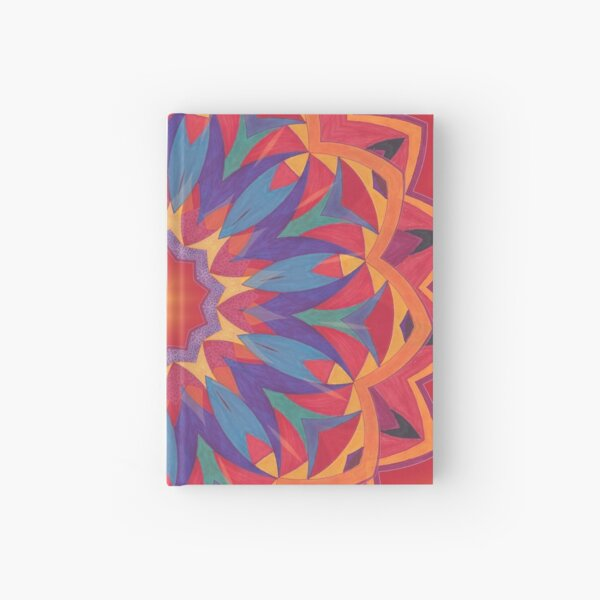 Melons Sliced Fruit and Juice Fall Into Winter Design by Green Bee Mee Hardcover Journal