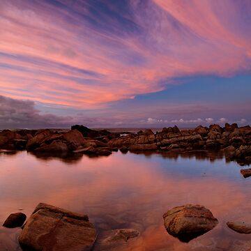 Bunker Bay, Rock Pools by levibuzolic