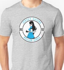 Jersey Shore Roller Girls Since 2007 Slim Fit T-Shirt