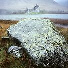 Kilchurn Castle across Loch Awe Scotland by Kevin Allan