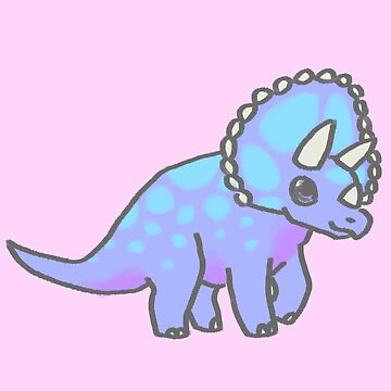 Lil Triceratops by SpectacledPeach