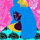 January Textile Girl by TabithaBianca