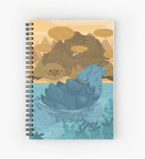 as on earth so in the sea Spiral Notebook