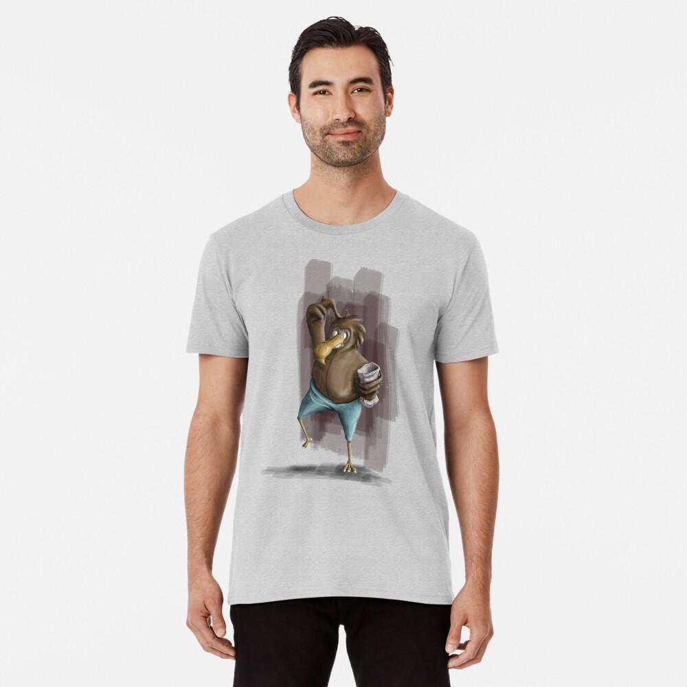 Confused bird - tee Premium T-Shirt