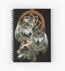 Wolf Dreams Spiral Notebook
