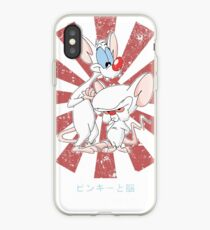 Pinky And The Brain Retro Japanese iPhone Case