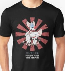 Pinky And The Brain Retro Japanese Unisex T-Shirt