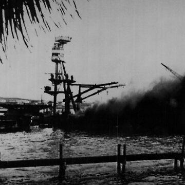 Arizona Pearl Harbor by dianegaddis