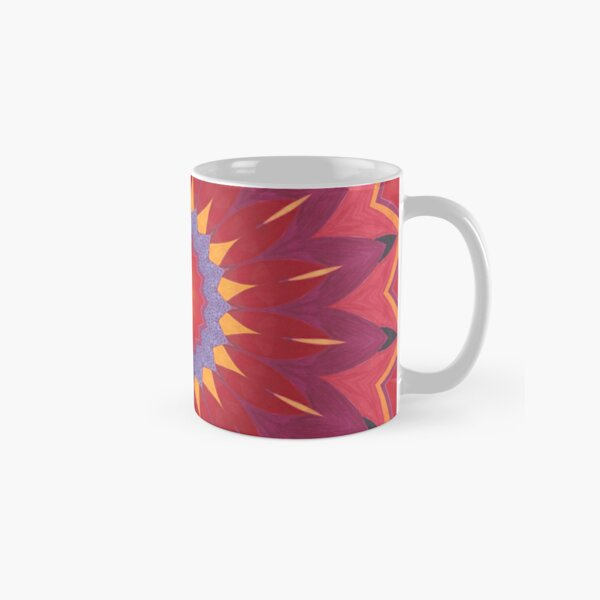 Melon and Fruit Juice Mix Fall Into Winter Design of Green Bee Mee Classic Mug