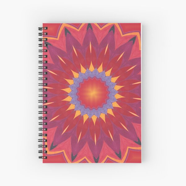 Melon and Fruit Juice Mix Fall Into Winter Design of Green Bee Mee Spiral Notebook