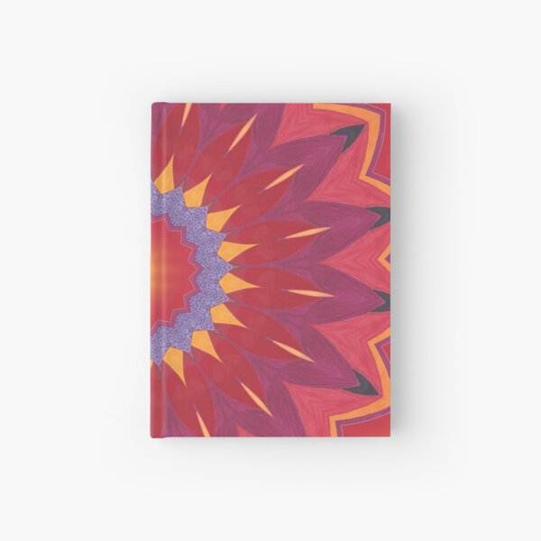 Melon and Fruit Juice Mix Fall Into Winter Design of Green Bee Mee Hardcover Journal