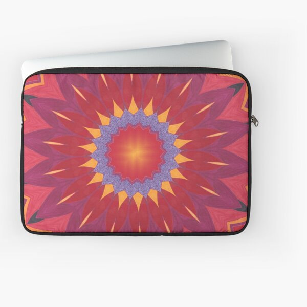 Melon and Fruit Juice Mix Fall Into Winter Design of Green Bee Mee Laptop Sleeve