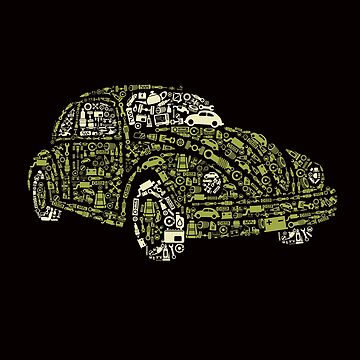 Classic VW Bug by wearitout