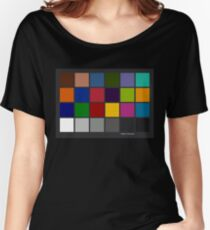Color Checker Chart Women's Relaxed Fit T-Shirt