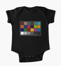 Color Checker Chart One Piece - Short Sleeve