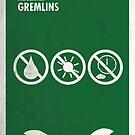 «Gremlins minimal movie poster» de quimmirabet