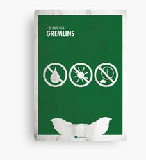 Gremlins Minimal movie Poster Canvas Print