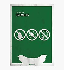 Gremlins Minimal movie Poster Photographic Print